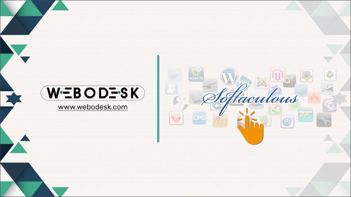 Softaculous | Best One-Click Application Installer - Webodesk